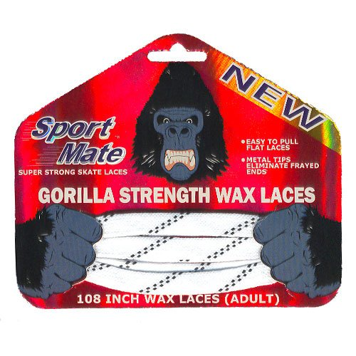 Gorilla Strength Wax Laces inches