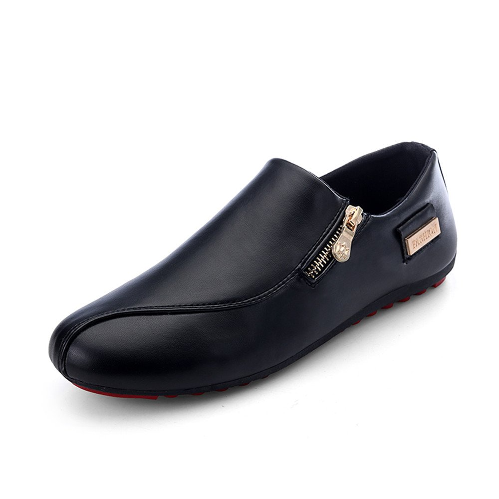 Another Summer Men's Classic Fashion Zipper Lightweight Loafers