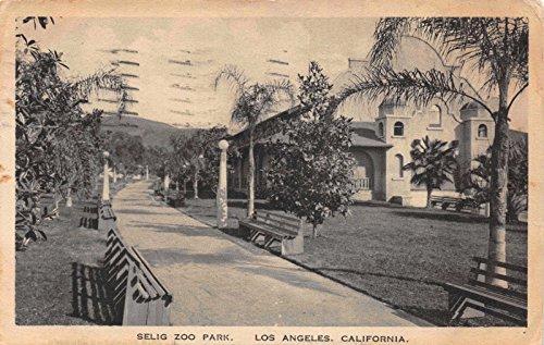 Postcard Selig Zoo Park in Los Angeles, California~118138