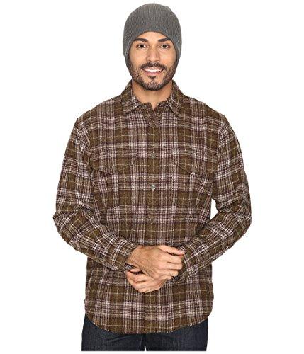 Filson Northwest Wool Shirt Dark Tan Plaid Men's Clothing
