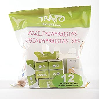 Trafo | Organic Raisins in Kids Boxes | 14 x 12 box