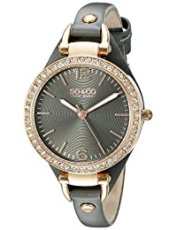 SO & CO New York  Women's 5061.1 SoHo Analog Display Quartz Grey Watch