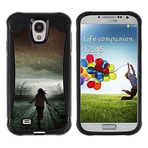 Suave TPU GEL Carcasa Funda Silicona Blando Estuche Caso de protección (para) Samsung Galaxy S4 IV I9500 / CECELL Phone case / / Light Winter Running Scary Meaning /
