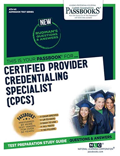 Certified Provider Credentialing Specialist (Admission Test Series)