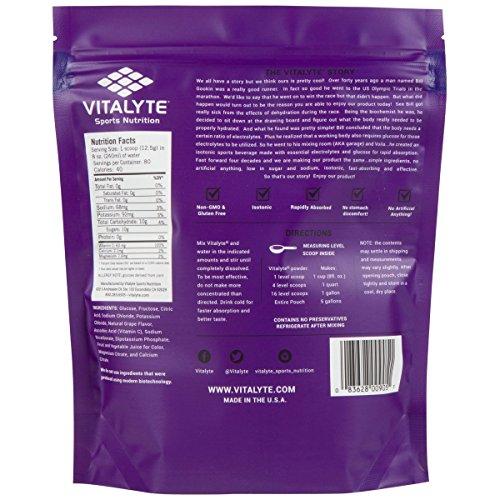 Vitalyte Natural Electrolyte Powder Sports Drink Mix Reviews