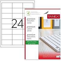 Tanex Tw-2533 Lazer Postalama, Davetiye, Kargo Işleri Için Her Pakette 100 Sayfa Etiket