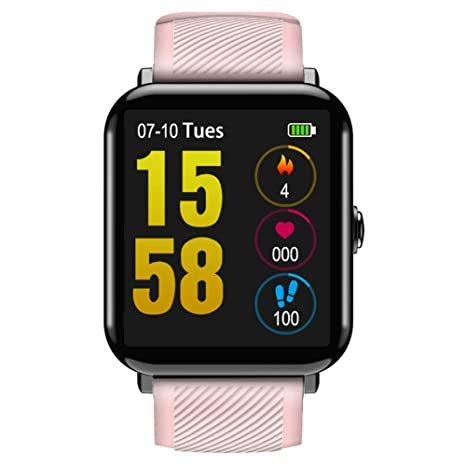 Amazon.com: CACIHOM OUKITEL W2 Smartwatch Sleep Heart Rate ...