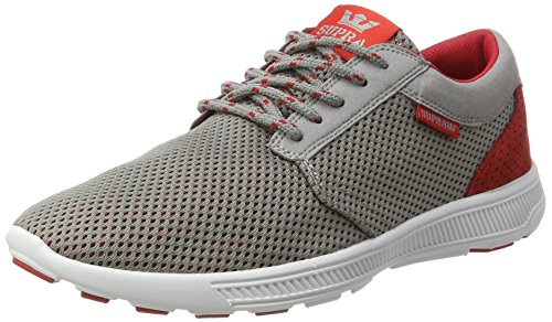 cheap sale huge surprise Supra Hammer Run Grey - Red sale view free shipping buy IUOEel