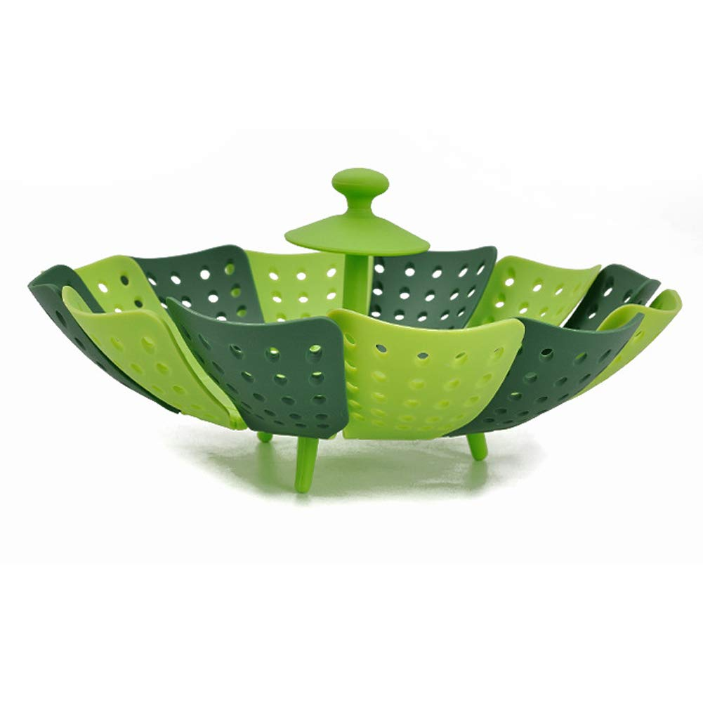 Tempshop 1 pc Folding Lotus Steamer Vegetable Steamer Basket