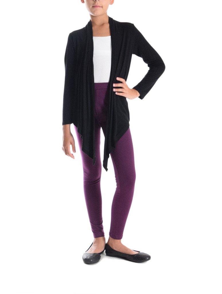 370644003e8c5 Dinamit Jeans Girls Solid Color Cotton-Spandex Leggings [1541760611 ...