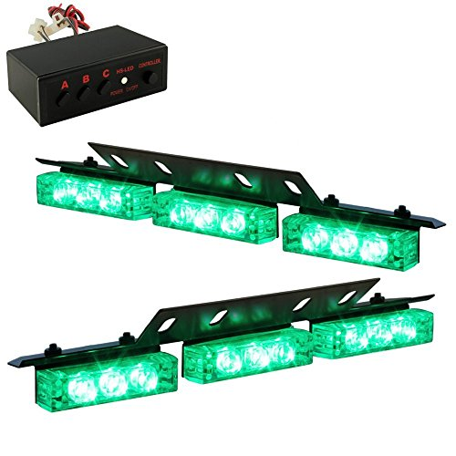 Green Emergency Lights Amazon Com