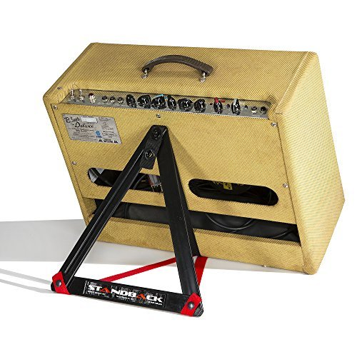 Standback Amp Stand, Light, Compact, and Adjustable