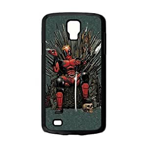 Design Popular Comic Character DeadPool Cool Pictures Hard Plastic Protective Case Shell for Samsung Galaxy S4 Active i9295 Cover-3