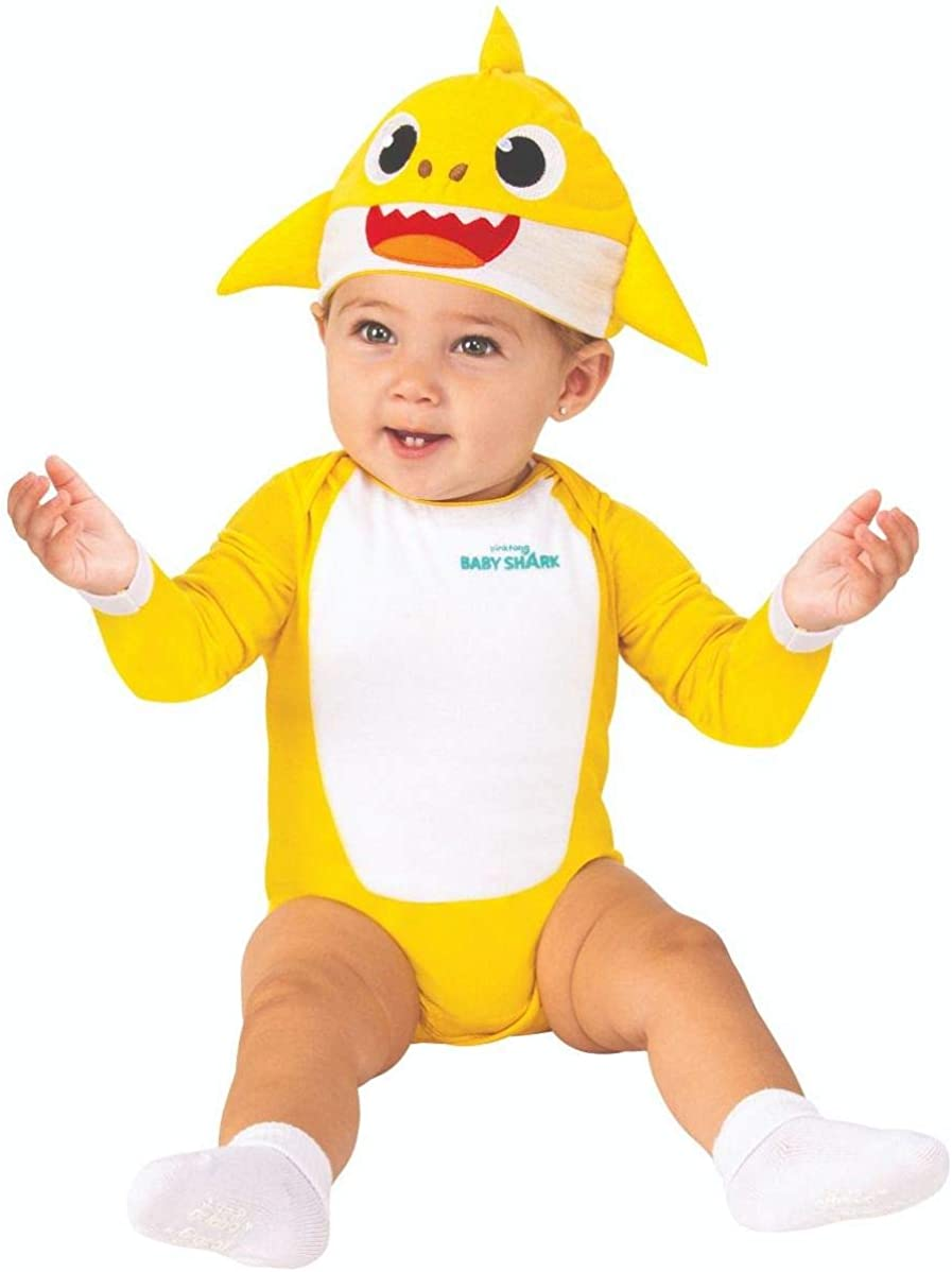 Rubie's Baby Shark Costume One-Piece Bodysuit