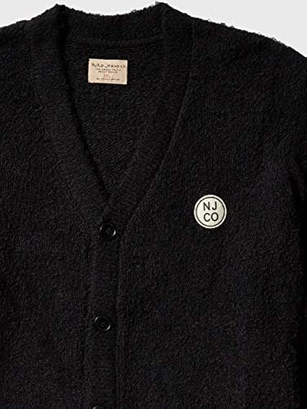 Nudie Jeans Męskie PIM NJCO Circle Cardigan Cardiganpullover, XX-Large: Odzież
