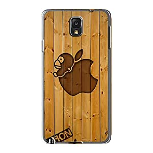Protector Hard Cell-phone Cases For Samsung Galaxy Note 3 With Provide Private Custom Colorful Bape Bar Wood Pattern JamieBratt