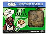 Rudy Greens Doggy Cuisine Home Cooking For Dogs Turkey Mac-n-Cheese Frozen Dog Food 5 Boxes (7.5 lbs Total, 20 Pouches each 6 oz)
