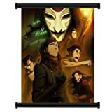 "Avatar: The Legend of Korra Cartoon Fabric Wall Scroll Poster (32"" x 42"") Inches"