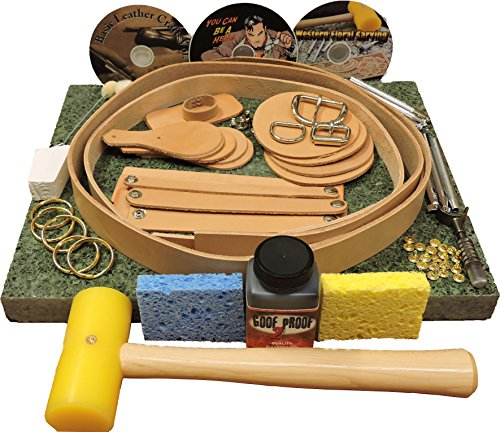 Springfield Leather Company Deluxe Belt & Project Starter Set by Springfield Leather Company