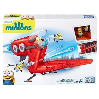 Mega Construx Minions Supervillain Jet: Toys & Games