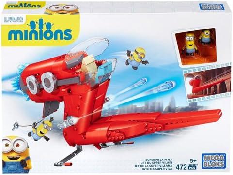 MINIONS - Juego de construcción, avión (Mattel CNF60-9964): Amazon.es: Juguetes y juegos