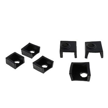 KESOTO 6 Piezas de Impresora 3D Bloque Calentador Cubierta de ...