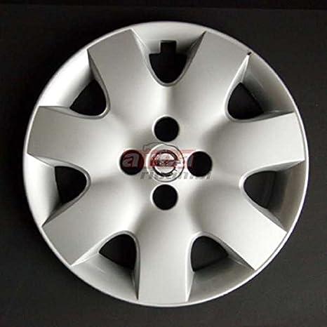 4 x Llantas para Nissan Micra 15 pulgadas de cromo Logo: Amazon.es: Juguetes y juegos