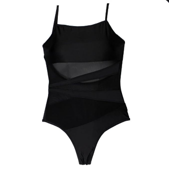 e4ba2f83fcf57 Beach One Piece Swimsuit Sexy Mesh Backless Bodysuit Bathing Suit Swim Suit  Maillot de Bain Femme