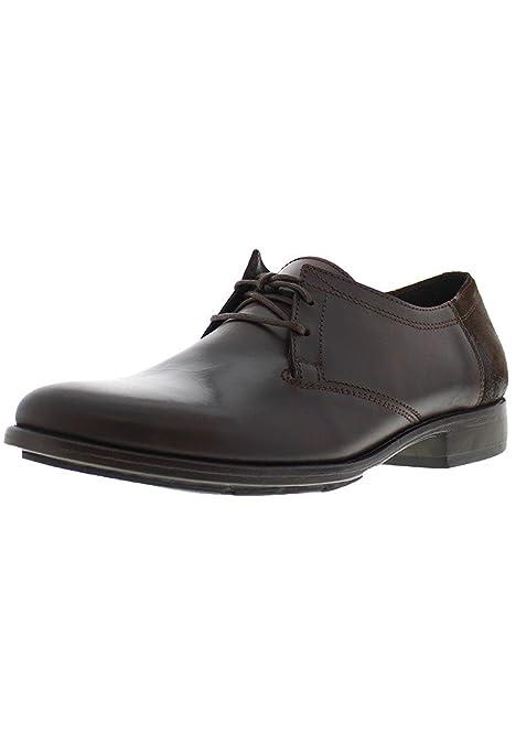 Fly London parte, Hombres de Derby, color marrón, talla 38: Amazon.es: Zapatos y complementos