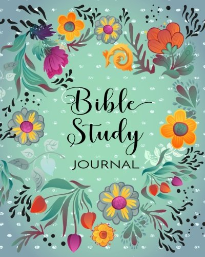 Bible Study Journal: Creative Christian Workbook For Men, Women and Kids (8x10)(120 Days Of Bible Study)(V1)