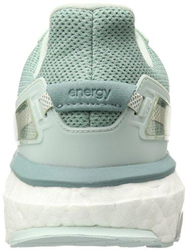 Scarpe Adidas Da Donna Ad Energia Boost 3, Leggere, Comode E Flessibili Vestibilità In Verde Vapore F16 / Gesso 2 / Acciaio Al Vapore F16