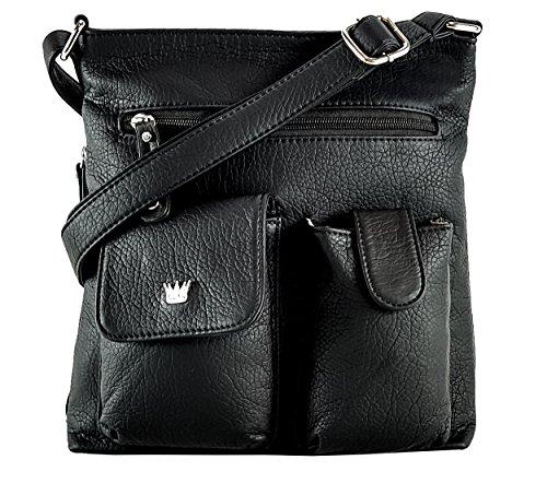 Purse King Colt Concealed Carry Handbag (Black)