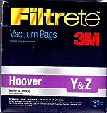 yz vacuum bags - 3M Hoover Y&Z Micro Allergen Bag