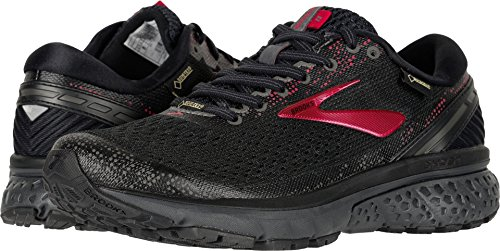 Brooks Women's Ghost 11 GTX Black/Pink/Ebony 7 B US ()