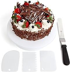 Benir 11  Rotating Cake Turntable Decoration Kit w/Cake Stand 12.7  Angled  sc 1 st  Amazon.com & Amazon.com: Cake Stands: Home u0026 Kitchen