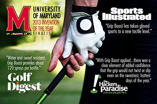 Grip Boost Sweat Proof Grip Enhancing GB Golf Spray 2oz. by Grip Boost (Image #3)