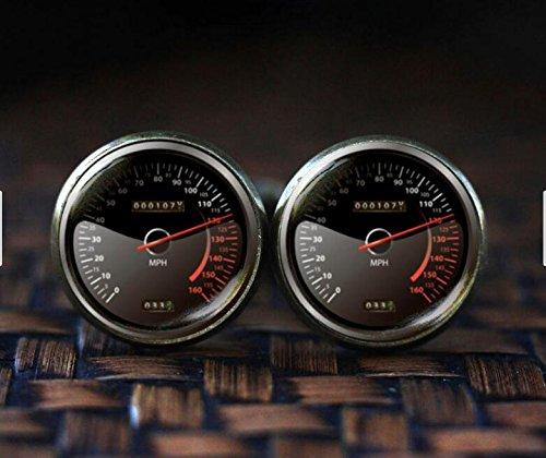 Speedometer Cufflinks, Car Speedometer Cuff Links, Trending Cufflinks, Fun Gifts For Men Race Car, Car Cufflinks, car lover gift