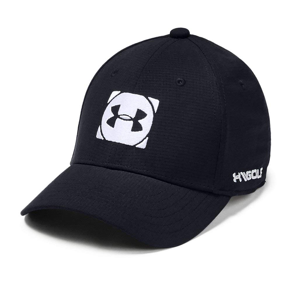 Under Armour Boys' Official Tour Cap 3.0, Black//White, Youth Small/Medium by Under Armour