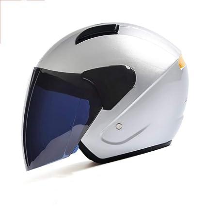 Half Helmets Color : Pink Warm Electric Motorcycle Helmet