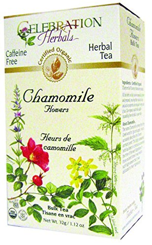 Celebration Herbals Chamomile Flowers Whole Organic by Celebration Herbals