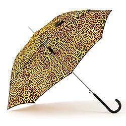 Shedrain Umbrellas Auto Stick, Fierce Leopard, One Size