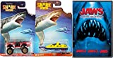Jaws 3-Movie Collection part 1/2/3 DVD & Matchbox Shark Week Exclusive Discovery Channel 2 Disc set with car Special Edition set Movie pack Set