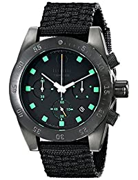 Electric Men's EW0030020020 DW01 Nato Band Analog Japanese Quartz Black Watch
