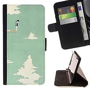 Dragon Case - FOR Samsung Galaxy Note 3 III - On my way to future - Caja de la carpeta del caso en folio de cuero del tirš®n de la cubierta protectora Shell