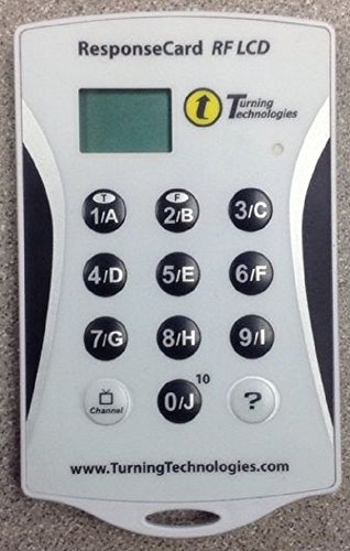 Response Card Rf   Lcd (Clicker)