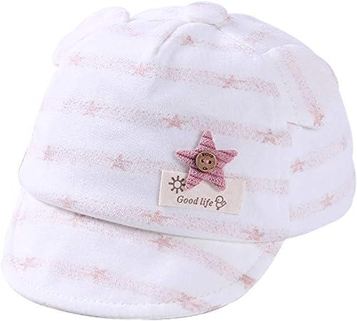 Skyeye 1piece Mignon Chapeau Pour 0 6 Mois Bebe Coton Bouffant