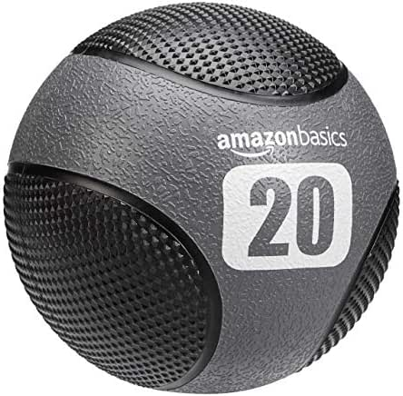 AmazonBasics Double Grip Type Medicine Ball, 20-lb