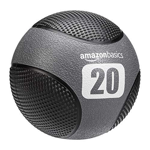 AmazonBasics Double Grip Type Medicine Ball, 20-lb