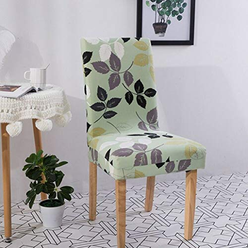 SGHOME Chair Covers Convenience One-Piece Stretch Fit Stool Slipcovers Wedding Dining Room Banquet Party Seat Case ()