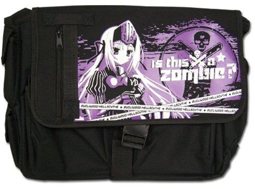 Messenger Tasche–Das ist, A Zombie?–New EU violett Schulranzen ge11826